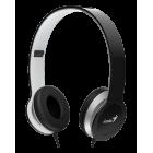 Genius 昆盈 HS-M430 手機專用高規格降噪耳機麥克風(黑/白色)
