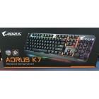 Gigabyte Aorus K7 RGB 紅軸英文 機械式鍵盤