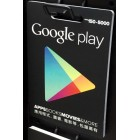 香港Google Play gift card 150-5000元