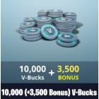 Fortnite 10000+3500 V-Bucks