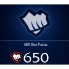 League of  Legends  英雄聯盟(美服) 650 聯盟幣 直充 LOL