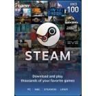 Steam $100 港幣 充值卡