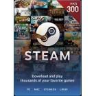Steam $300 港幣 充值卡