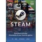 Steam $50 港幣 充值卡