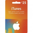 iTunes Gift Card USD(25美元)