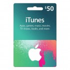 iTunes Gift Card USD(50美元)