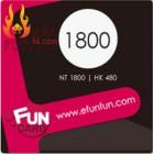 Fun Card 1800