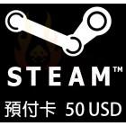 Steam $50 美元充值卡