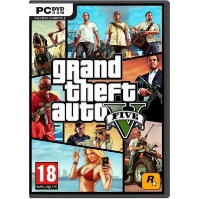 PC 俠盜獵車手 5 Grand Theft Auto V  數位版 中英文合版 GTA