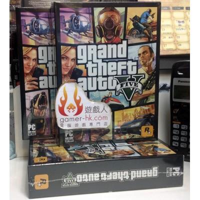 PC 俠盜獵車手 5 Grand Theft Auto V 實體中英文版 GTA